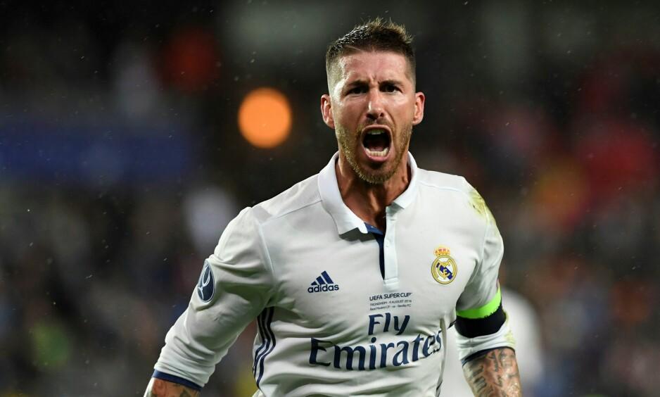 KRITIKK: Sergio Ramos mener han aldri skader noen med vilje. Foto: AFP PHOTO / JONATHAN NACKSTRAND