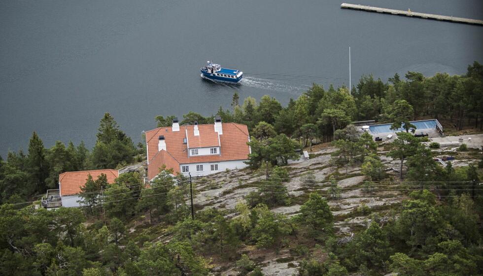 FACILITETER: Prinsesse Märtha Louises fasjonable eiendom Bloksberg på Hankø. Nå skal den selges, melder Se og Hør. Foto: Lars Eivind Bones / Dagbladet