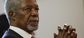 Kofi Annan er død