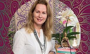 SJEL, KROPP OG SINN: Nina Normann Ferguson er redaksjonssjef i Energica bokklubb. Foto: Energica.