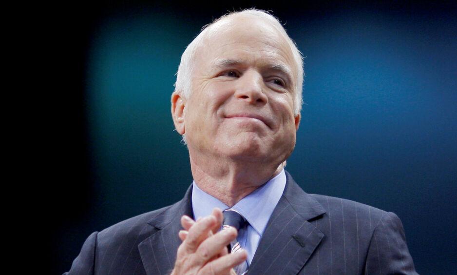 DØD: Senator John McCain er død, 81 år gammel. Foto: Brian Snyder / Reuters / NTB Scanpix