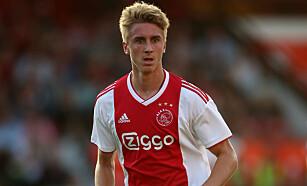 TALENT: Dennis Johnsen er fortsatt i Ajax' framtidsplaner, selv om han nå lånes ut til Heerenveen. Foto: NTB Scanpix