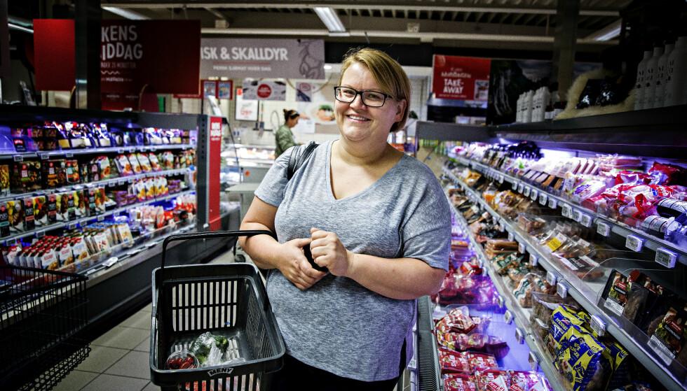 RIKTIG MAT FOR VEKTNEDGANGEN: Å spise riktig er viktig for at Anne Marie Sara Isaksen skal kunne nå målet om en lavere vekt. Foto: Nina Hansen