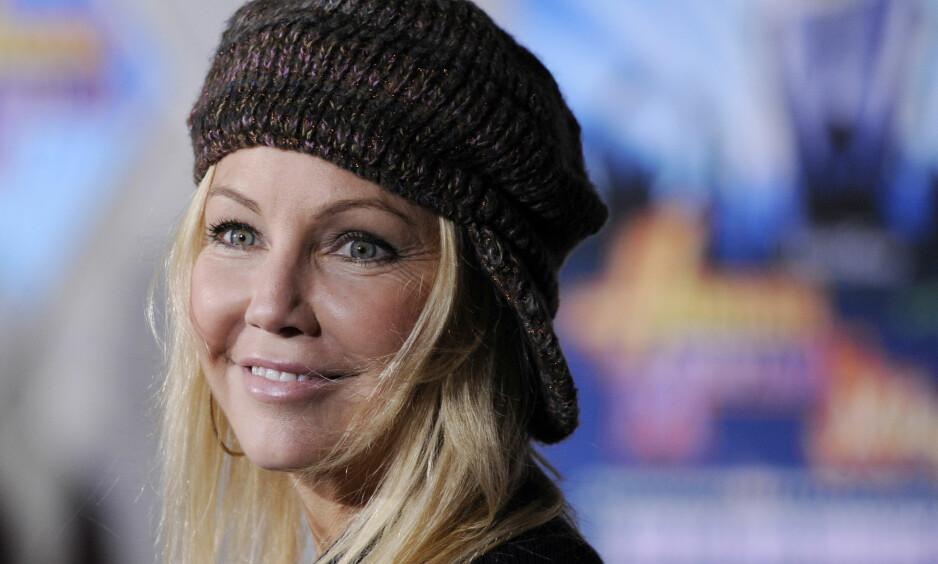 SKAPER OVERSKRIFTER: Livet har ikke bare vært enkelt for skuespiller Heather Locklear (56) den siste tida. Nå risikerer hun fengselsstraff. Foto: NTB Scanpix