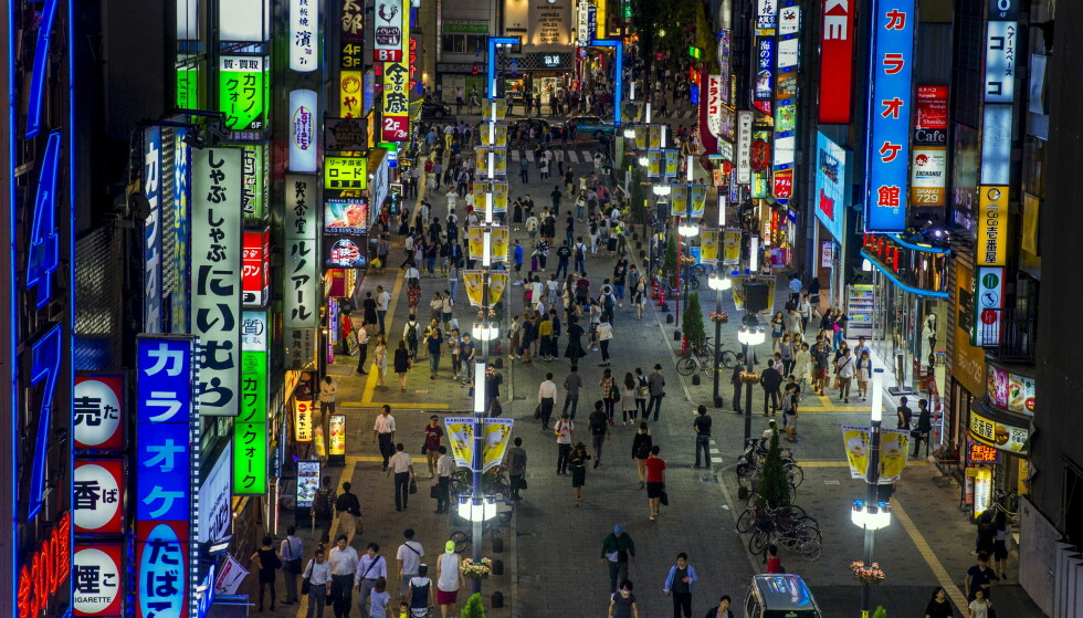 GODT RYKTE: Tokyo er kåret til den storbyen i verdens som har best omdømme. Foto: NTB Scanpix