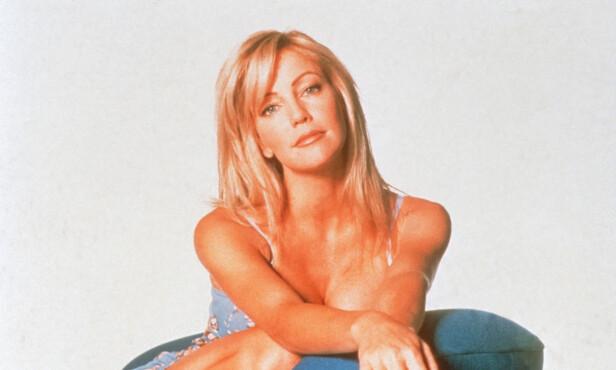 STOR STJERNE: Heather Locklear ble verdensberømt for rollen i 90-tallssåpa «Melrose Place». Her fra 1999. Foto: NTB Scanpix