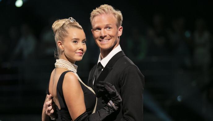 TV-ERFAREN: Martine Lunde danset med Fredric Brunberg i «Skal vi danse» i 2018. Foto: Se og Hør