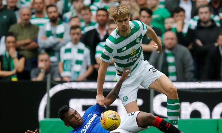 SEIRET: Celtic ligger på andreplass etter 1-0-seieren mot Rangers. Foto: Russel Cheyne / Reuters / NTB Scanpix
