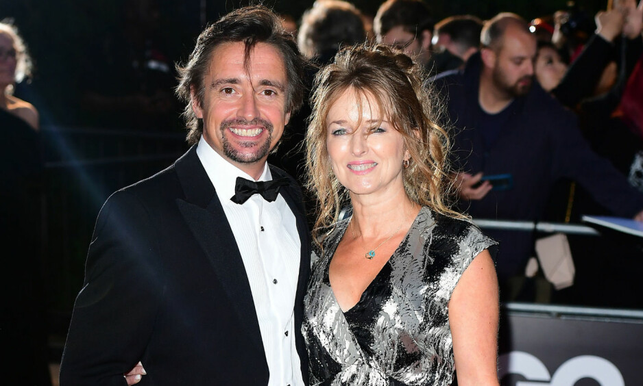 RANET I SØVNE: «Top Gear»-profil Richard Hammond og kona Mindy var på ferie i Frankrike da frekke tyver brøt seg inn midt på natta. Da paret og de andre i huset våknet, var verdisakene søkk borte. Foto: NTB scanpix
