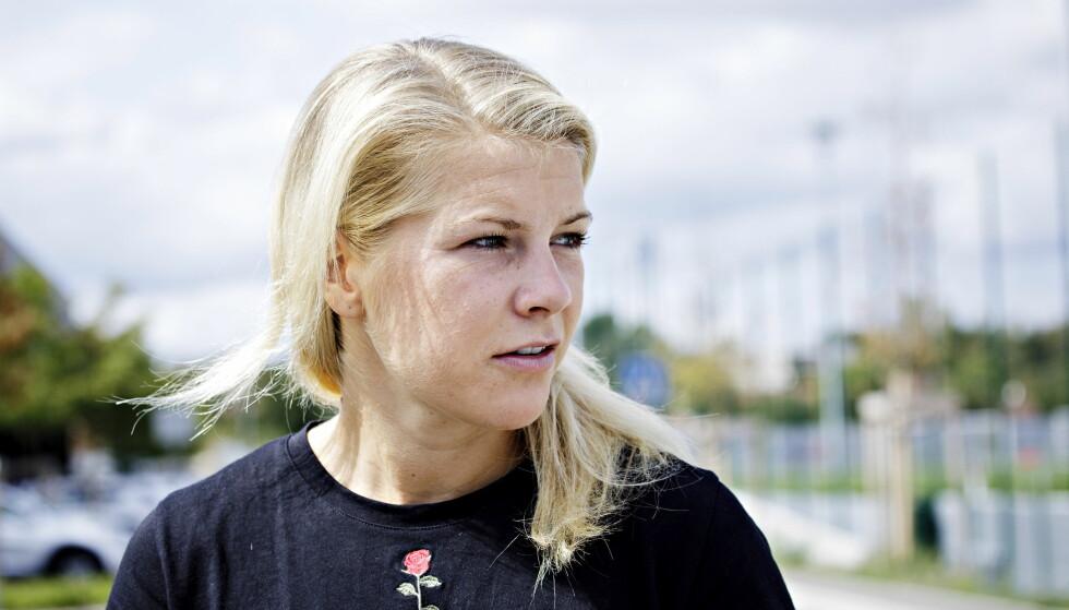 FORTSATT NEI: En av verdens beste fotballspillere, Ada Hegerberg, har ikke endret mening. Foto: Nina Hansen / Dagbladet