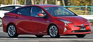 Toyota tilbakekaller flere tusen hybridbiler i Norge grunnet brannfare