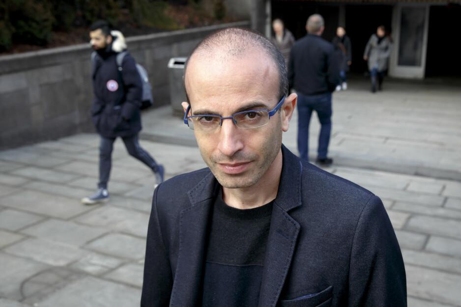 POPULÆR: Professor i historie Yuval Noah Harari er en omvandrende kunnskapsbank og en sterk analytisk begavelse. Han er forfatteren «alle» snakker om. Foto: NTB/Scanpix