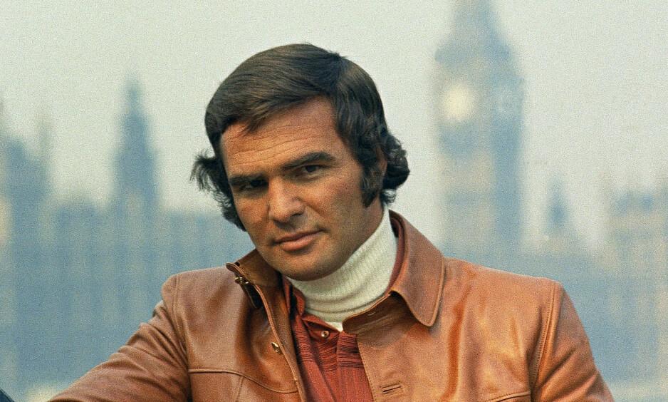 DØD: Burt Reynolds døde som følge av et hjerteinfarkt torsdag. Han ble 82 år gammel. Foto: NTB Scanpix