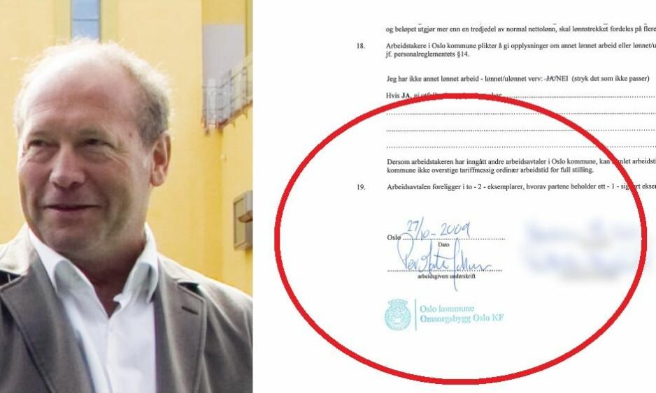 - INHABIL: Administrerende direktør Per Morten Johansen var ikke habil til å ansette sin egen forlover og kamerat siden 1980-tallet, konkluderer jusprofessor Jan Fridthjof Bernt.