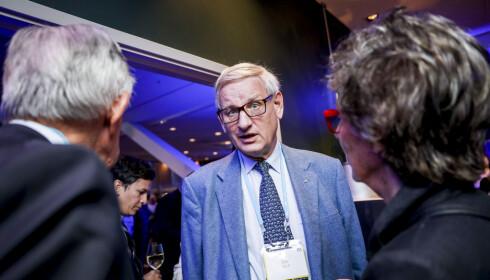 OPTIMIST: Da Dagbladet intervjuet Carl Bildt lørdag kveld, var han klar på at Stefan Löfven kom til å måtte gå av. Foto: Christian Roth Christensen / Dagbladet
