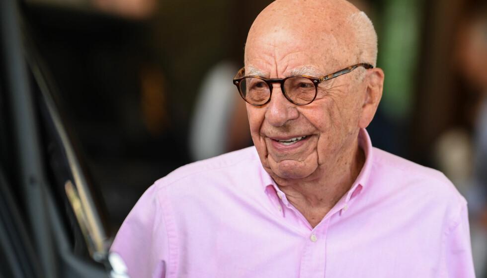MEDIEMOGUL: Rupert Murdoch. Foto: Rob Latour/REX/Shutterstock