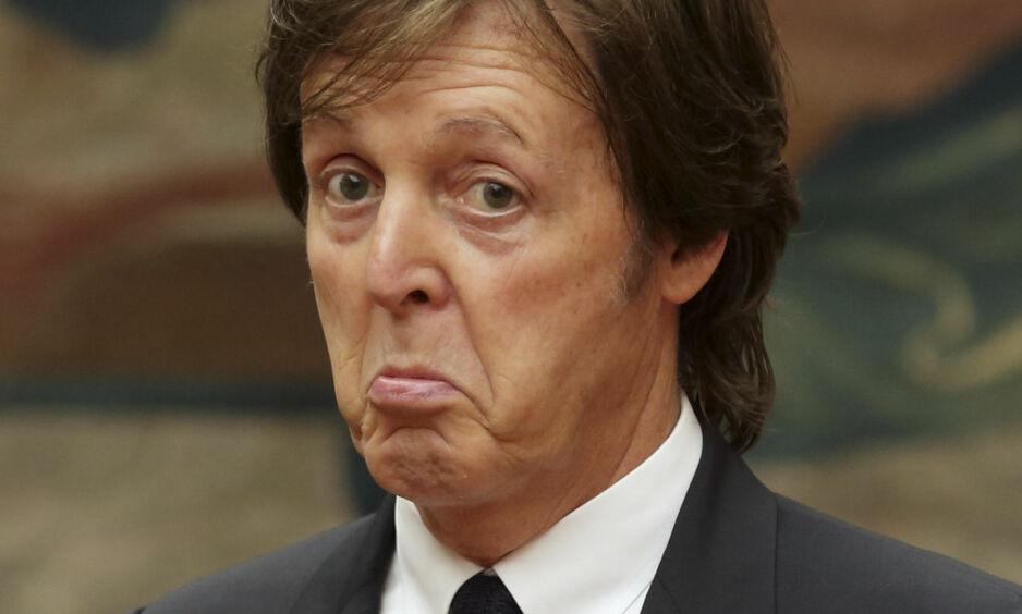 PIKANT: Den legendariske The Beatles-artisten Paul McCartney graver dypt i minneboka i et større intervju med GQ. Foto: NTB Scanpix