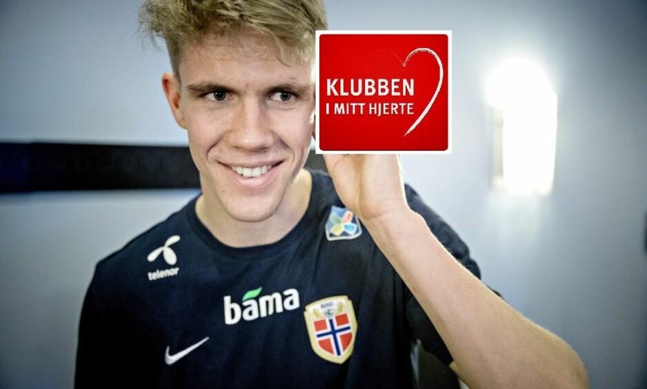SUKSESSHISTORIE: Kristoffer Ajer har hatt en voldsom utvikling de siste årene og er nå nøkkelspiller på både klubb og landslag. Foto: Bjørn Langsem