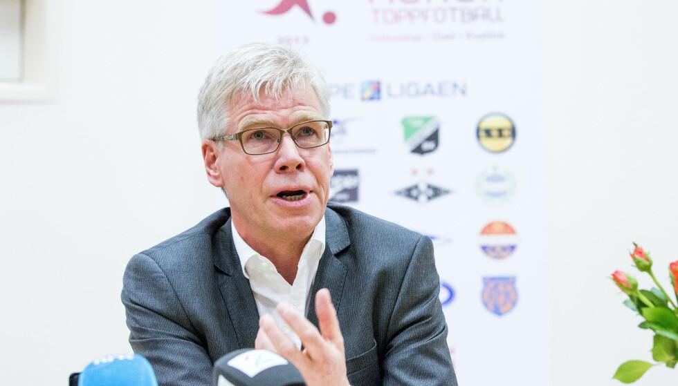 TAR GREP: Leif Øverland og Norsk Toppfotball. Foto: Gorm Kallestad / NTB scanpix