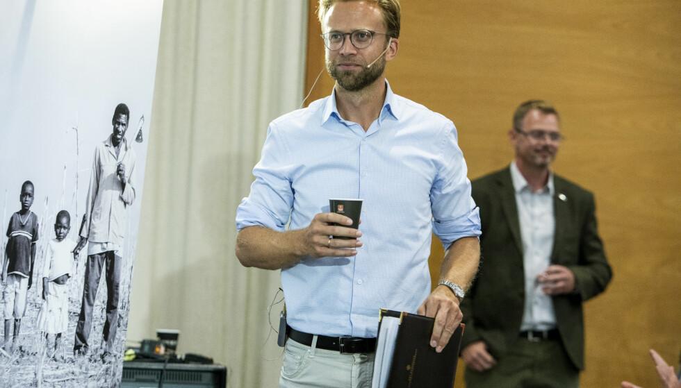 SKAL GÅ IGJENNOM: Utviklingsminister Nikolai Astrup (H) skriver i en e-post at UD nå skal gå igjennom evalueringsrapporten. Foto: Tore Meek / NTB scanpix