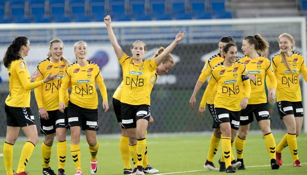 CHAMPIONS LEAGUE: Guro Reiten og resten av LSK Kvinner står overfor en slags eksamen i dag. Foto: Terje Pedersen / NTB scanpix