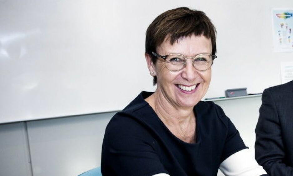 RÅDMANN: Rådmannen i Grimstad kommune, Tone Marie Nybø Solheim, sier til Dagbladet at hun har omtanke med Aas og hans familie. Foto: John T. Pedersen