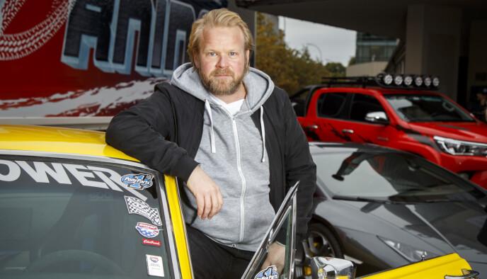 POPULÆRE FILMER: Skuespiller Anders Baasmo har hovedrollen «Børning»-filmene. Foto: Heiko Junge / NTB