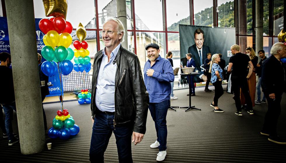 RADARPAR: Eyvind Hellstrøm og Truls Svendsen er i høst klar med en ny sesong av «Truls à la Hellstrøm». Foto: Nina Hansen / Dagbladet