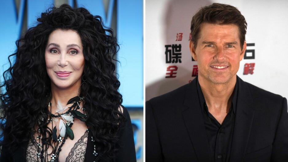 ÅPNER OPP: Den amerikanske sangeren Cher har vært i flere profilerte forhold. Hun er ikke redd for å snakke åpent om dem. Et av dem var med Tom Cruise. Foto: NTB scanpix