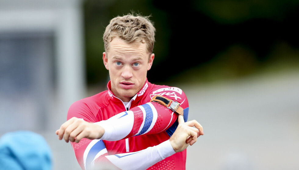 SOLID SEIER: Tarjei Bø var sterkest under NM-sprinten i rulleskiskyting på Gautefall i Drangedal lørdag. Her er han fra en tidligere anledning. Foto: Vidar Ruud / NTB scanpix