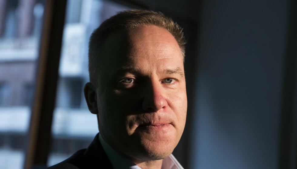 AVVIST: Resett-redaktør Helge Lurås ønsket å bli medlem av Norsk Redaktørforening – men søknaden er avvist av et enstemmig styre. Foto: Håkon Mosvold Larsen / NTB scanpix