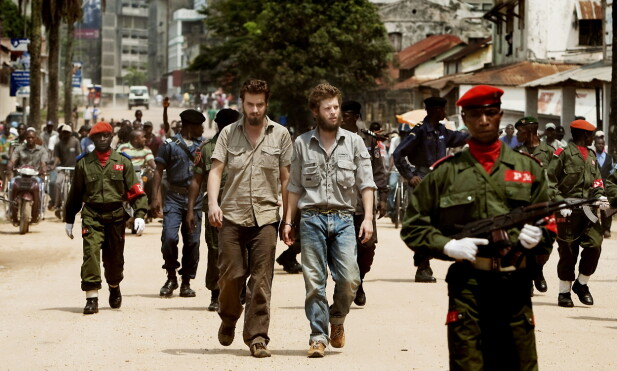 AUGUST 2009: Første dag i rettssaken mot Joshua French og Tjostolv Moland i Kisangani, Kongo. Foto: Espen Røst / Dagbladet