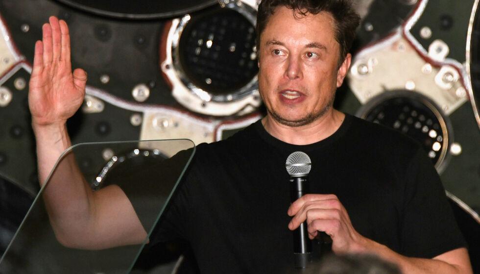 SAKSØKT: Amerikanske myndigheter går etter Elon Musk og Tesla. Foto: NTB Scanpix