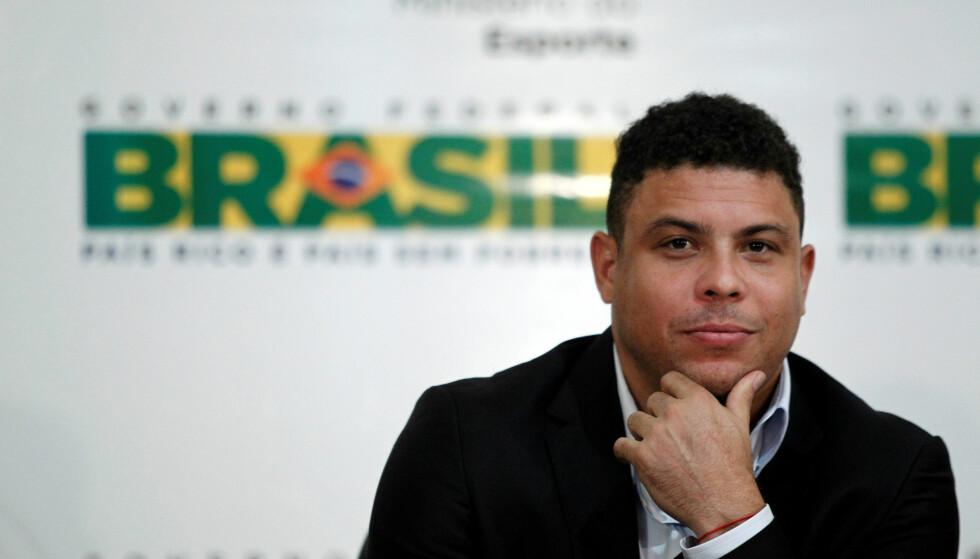 VIL GJØRE KLUBB STOR I EUROPA: Ronaldo har gått inn på eiersiden i spansk klubb. Foto: REUTERS/Ueslei Marcelino/NTB Scanpix