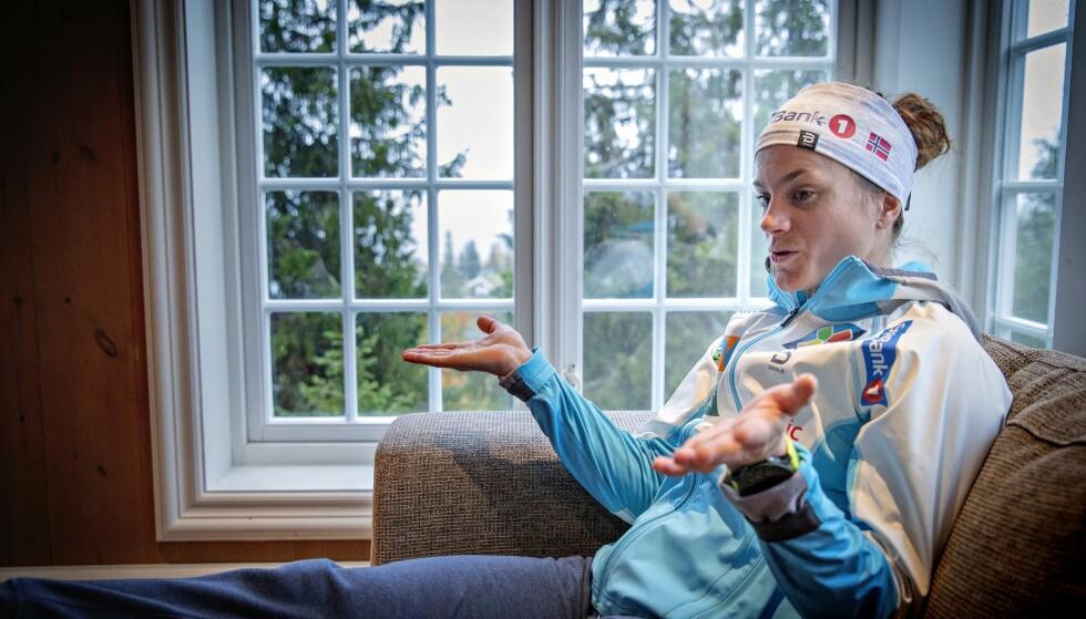 HAR FUNNET SVAR: Heidi Weng vet hvorfor det gikk galt i OL og i sesongavslutningen. Foto: Bjørn Langsem / Dagbladet