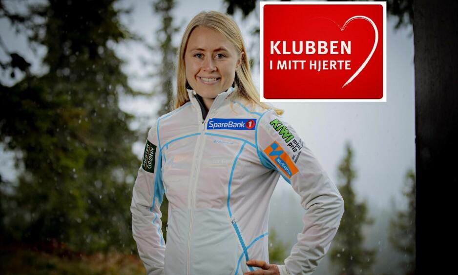 OPP OG FREM: Ragnhild Haga fikk sitt virkelige gjennombrudd forrige sesong. Nå skal hun prøve å gjenskape suksessen, gjerne med en VM-medalje i Seefeld. Foto: Bjørn Langsem