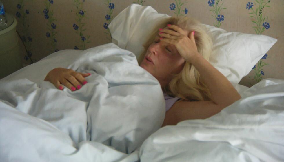 OPERERT: Under innspillingen av TV4-serien «Biggest loser VIP» fikk Gunilla Persson blødninger i underlivet, noe som endte med operasjon. Foto: TV4