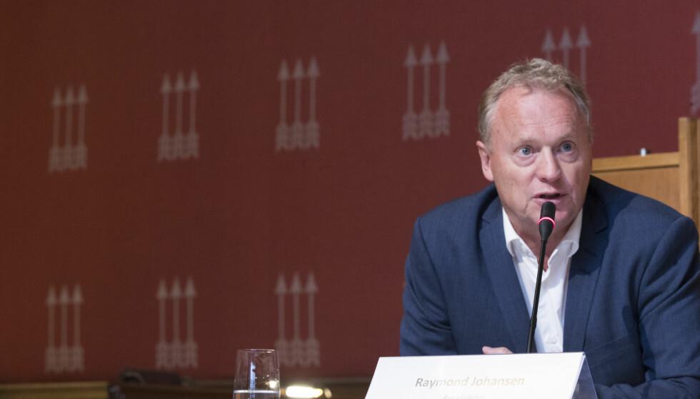 Bør øke støtten: Byrådsleder Raymond Johansen bør styrke den frie rettshjelpen. Foto: Terje Pedersen / NTB scanpix