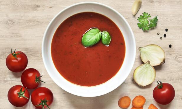 SOM HJEMMELAGET: Knorrs tomatposesuppe inneholder like mye næringsstoffer og mineraler som om du skulle ha laget suppen fra bunnen av. Det går også mye raskere!