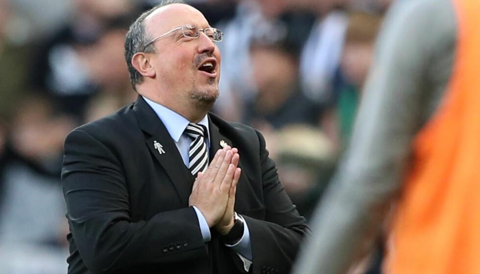 BOT: Rafael Benitez må punge ut. REUTERS/Scott Heppell