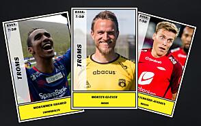 Dagbladet kårer de 50 beste fotballspillerne fra Troms