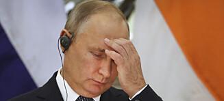 Sjokk-tall for Putin