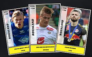 Dagbladet kårer de 50 beste fotballspillerne fra Rogaland