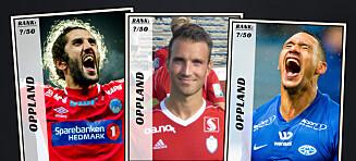 Dagbladet kårer de 50 beste fotballspillerne fra Oppland