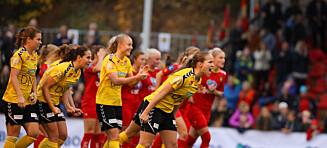 Dramatisk da LSK Kvinner tok seg til cupfinalen