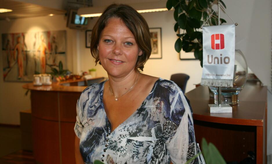 BEDRE VERN MOT NETTHETS: Hvorfor får ikke ansatte i barnevernet bedre vern mot netthets, spør Anne Grønsund, leder for barnevernspedagogene i Akademikerforbundet, Unio, i denne kronikken. Foto: Unio