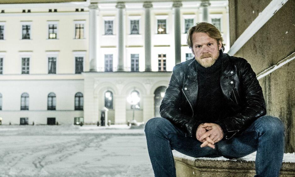 BEKREFTET: Skuespiller Anders Baasmo Christiansen vil spille Vidkun Quisling i en kommende storserie. Foto: Thomas Rasmus Skaug / Dagbladet