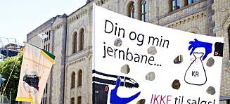 Norske folkevalgte må ha råderett over jernbanen