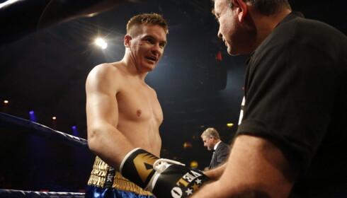TRENEREN: Alexander Hagen smiler til sin trener og venn Max Mankovitz. Foto: Eivor Eriksen