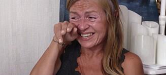 Bryter ut i gledestårer når hun ser gjelda si på over 600 000 kroner